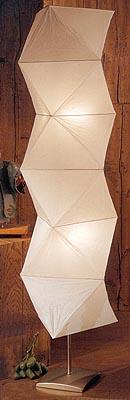 Paper lantern floor lamps kiku floor lamp in 6 colors aloadofball Gallery