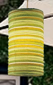 Preppy Stripe Green HARU Lanterns