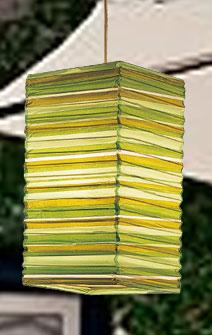 Preppy Stripe Green NATSU Lanterns