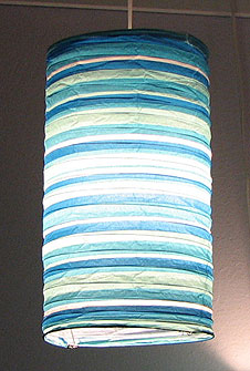 Preppy Stripe Blue HARU Lanterns