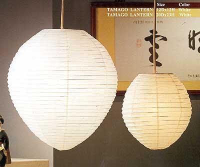 TAMAGO Paper Lantern In White