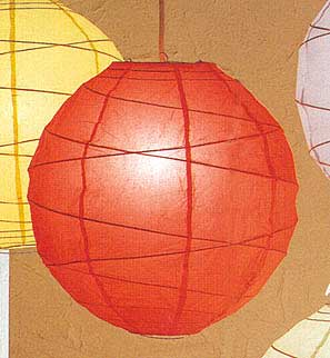 MARU Paper Lantern In Red