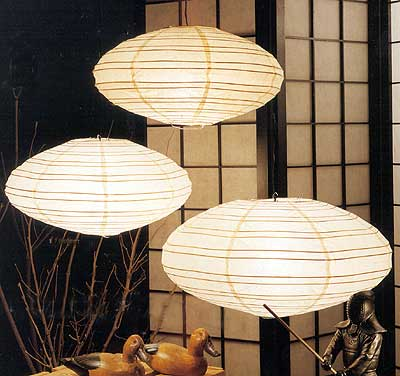SATURN Paper Lantern In Natural