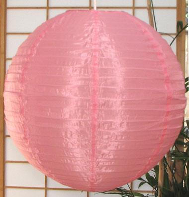 Even Ribbing Nylon Lantern In Light Pink