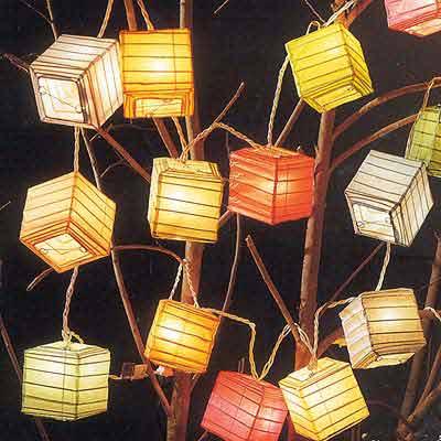 12 Mini Box String Light Set