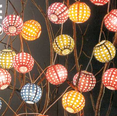 12 Mini Dotted Round String Light set