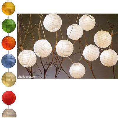 12inch Jumbo Even Round Party Light set