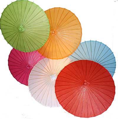 6pc. Value Pack Paper Umbrellas