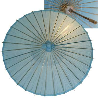 32in Paper Umbrella in BLUE