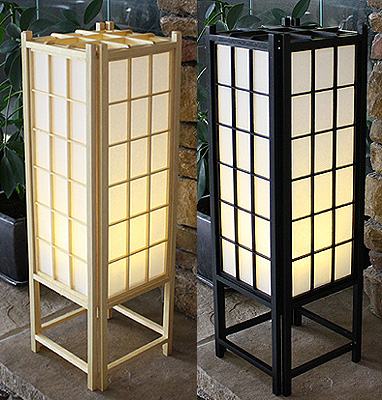 23in Traditional Shoji Lamp
