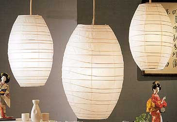 10PC Value-Pack KAWAII Paper Lantern In White