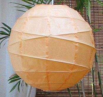 10PC Value-Pack MARU Paper Lantern In Peach