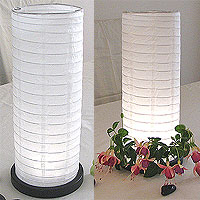 Table Centerpiece LED Battery Lanterns in White