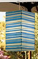 Preppy Stripe Blue NATSU Lanterns