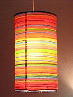 Preppy Stripe Red HARU Lanterns