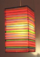Preppy Stripe Red NATSU Lanterns