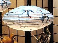 BOTANIC Leaves Petals Saturn Lantern