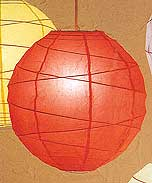 MARU Paper Lantern In Red