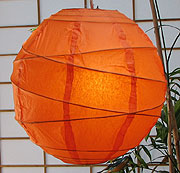 MARU Paper Lantern In Orange