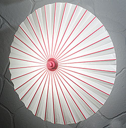 Paper Parasol in Rose Pink