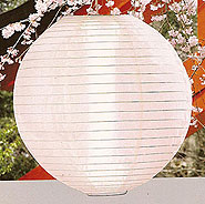 Even Ribbing Nylon Lantern In White