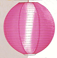 Even Ribbing Nylon Lantern In Rose Pink
