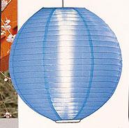 Even Ribbing Nylon Lantern In Light Blue