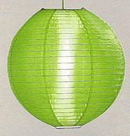 Even Ribbing Nylon Lantern In Grass Green