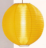 Even Ribbing Nylon Lantern In Golden Yellow