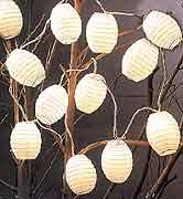 12 Mini Oval String Light set