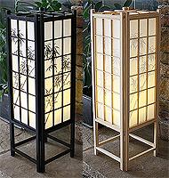 23in Bamboo Traditional Shoji Lamp