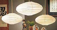 10PC Value-Pack SATURN Paper Lantern In White