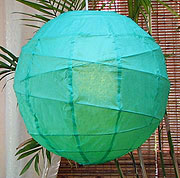 10PC Value-Pack MARU Paper Lantern In Green