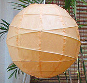 10PC Value-Pack MARU Paper Lantern In Peach