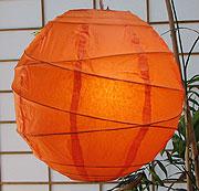 10PC Value-Pack MARU Paper Lantern In Orange